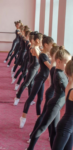 Урок хореографии