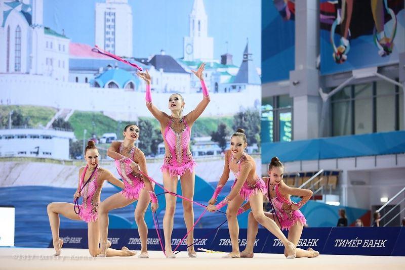 В марте прошли одни из основных соревнований по художественной гимнастике