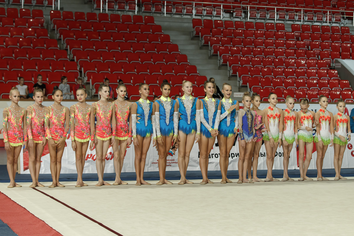 Завершились всероссийские соревнования по художественной гимнастике