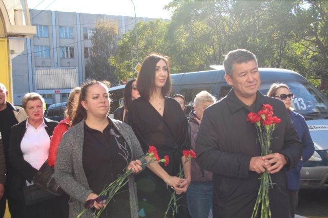 19 октября 2018 года открытие мемориальной доски Л.А. Тихомировой
