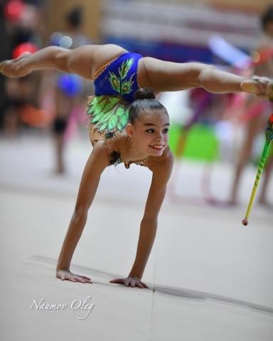 в Новогорске прошёл предварительный просмотр лучших гимнасток России