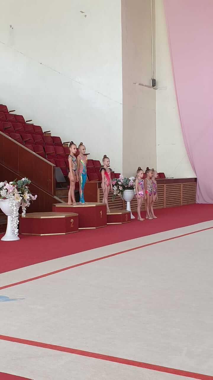 Первенство Астраханской области - областной организации общества «Динамо» по художественной гимнастике