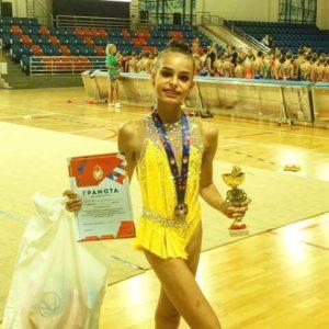 Елена Шагова заняла 2️ место на всероссийских соревнованиях на Призы серебряного призера Олимпийских игр