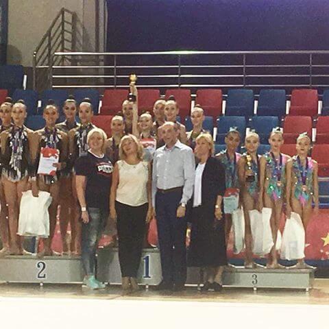 Гимнастики Тренера Аксёновой Яны заняли 3️ место на всероссийских соревнованиях на Призы серебряного призера Олимпийских игр