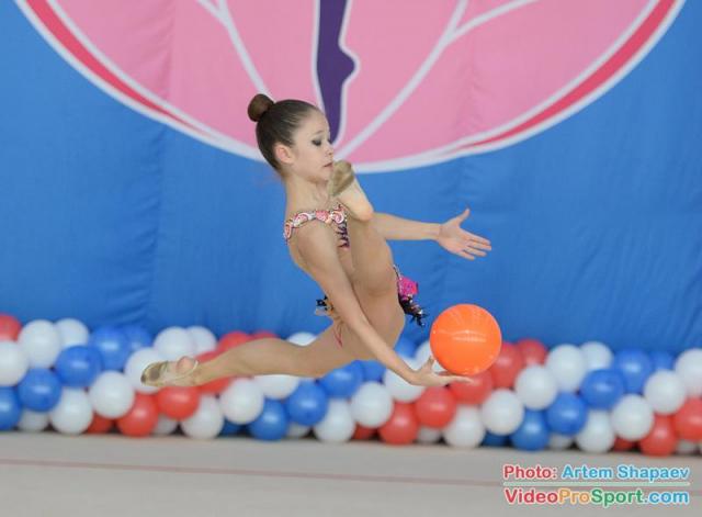 Завершились соревнования на первенство Астраханской области по художественной гимнастике
