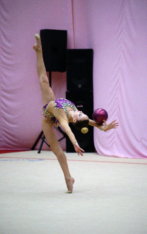 Первенство Астраханской области по художественной гимнастике