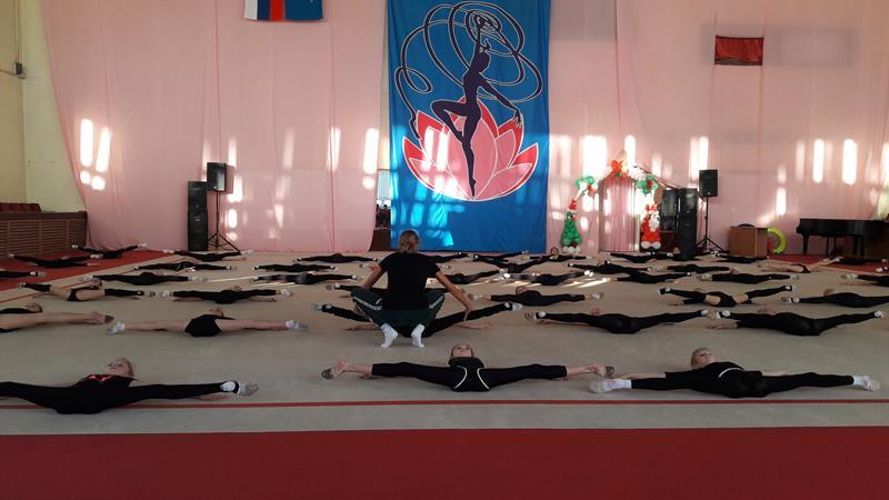 Мастер класс заслуженного мастера спорта Олимпийской чемпионки Елены Шаламовой