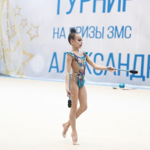 Литвинова Евдокия приняла участие в III турнире ЗМС Александры Солдатовой