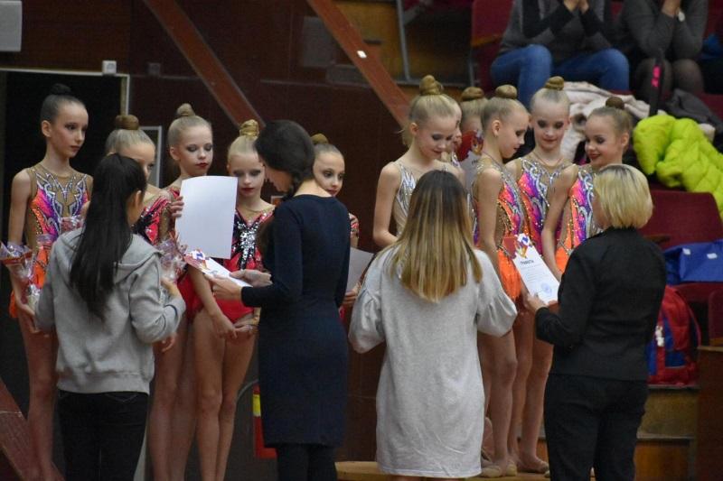 Первенство АО по художественной гимнастике